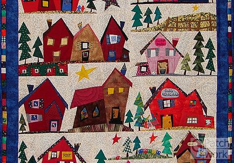 Gabriele janich patchwork - Wandbehang patchwork ...
